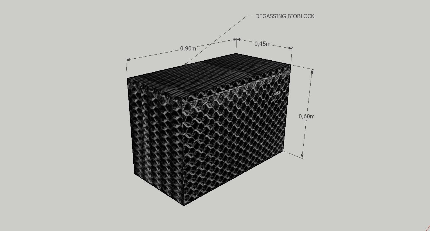 Degassing Bioblock